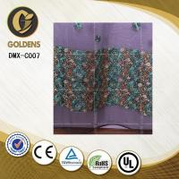 Wholesale Jacquard embroidery lace curtain fabric made in china DMX-C007 Curtain from china suppliers