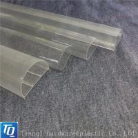 Wholesale Extruded Plastic Square Shaped Shades Transparent Led Light Pc Tube House from china suppliers