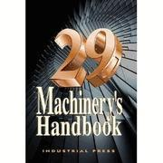Wholesale Machinery's Handbook 29th Edition Large Print Machine book from china suppliers