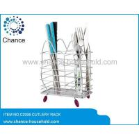 Wholesale Chrome Cutlery Holder C2007 from china suppliers