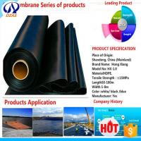 Wholesale AS Fish Farm Low Price Pond Liner Reinforced Water Tank Hdpe Geomembrane from china suppliers