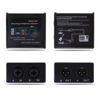 Wholesale Noise Isolator Professional Full Rage Audio Ground Loop Signal Protector With 3.5-6.35mm Audio Cable from china suppliers