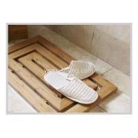 Wholesale Non-slip Bamboo Bathroom accessories bath Floor Mat from china suppliers