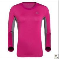 Wholesale T-shirt/Polo Round collar quick-drying long-sleeved T-shirt from china suppliers