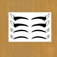 Wholesale eye liner body art temporary tattoo for makeup from china suppliers