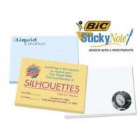 """China Imprinted/Personalized Items Bic 4""""x3"""" Adhesive Notepad wholesale"""