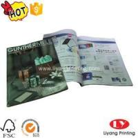 Wholesale Magazine Softcover magazine,brochure printing with glossy lamination from china suppliers