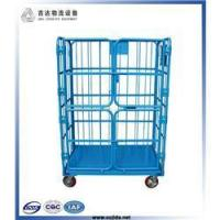 China Collapsible wheeled laundry industrial trolley wholesale