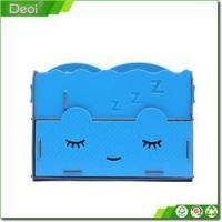 Wholesale Beautiful blue cosmetics plastic storage box Exquisite Plastic storage box from china suppliers