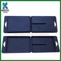 Wholesale Customized Black Color Biodegradable Fiber Pulp Molded Packaging Boxes from china suppliers
