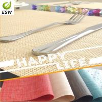 2014 Hot Sell Design Vinyl Woven Placemat