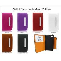China Wallet Pouch with Mesh Pattern wholesale