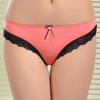 Buy cheap Manufacturers Selling Inventory Of Cotton Underwear Briefs Wholesale Sexy Lace Panty Head from wholesalers