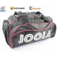 China 420D high quality sport travel bag gym bag with shoe pocket wholesale