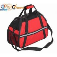 Wholesale reflective strip portable pet carrier bag from china suppliers