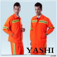 Wholesale Uniform Hot Sell New Design Orange Safety Worksuit from china suppliers
