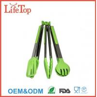 Wholesale Silicone and Stainless Steel Flipper Tongs Salad Tong Food Tong from china suppliers