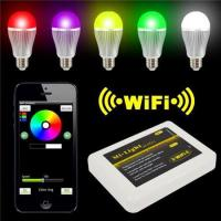 LED Panel Light Iphone IOS for Android Smart Phone + 9W RGBW LED Bulb
