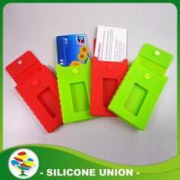 Wholesale Red and Green Silicon Phone Card Holder from china suppliers