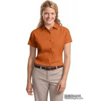 Wholesale Apparel & Clothing AB1010Ladies Easy Care Short Sleeve Shirt from china suppliers
