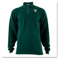 Wholesale Apparel Forest Green Dentistry Caduceus Long-Sleeve Polo Shirt (Medium) from china suppliers