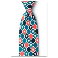 Apparel Dentist Tooth Necktie