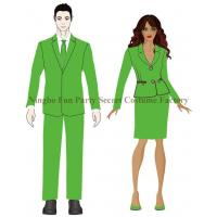 Wholesale 80s Neon Green Suit Set from china suppliers