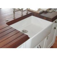 franke fireclay apron front sink