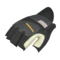 NEWSAIL Cowhide Leather palm with Fingerless design frees bicycle racing gloves