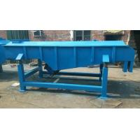 Soil sand coffee bean linear vibrating sieve with CE