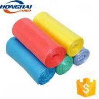 Factory disposable plastic recycled trash bag on roll