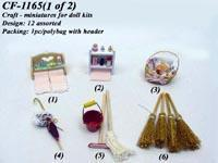 Craft - miniatures for doll kits