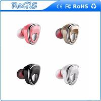 Invisible Wireless Bluetooth Earphone Mini Headset Earbud With Mic Noise Cancelling Handsfree