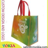 New Design promotional reusable non woven bag recycle shopping punch