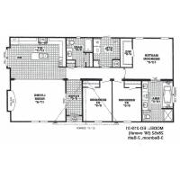 4 Bedroom Double Wide Floor Plans 5 Triple Mobile Homes For Sale