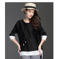 Wholesale Loose Seven-minute Sleeve T-shirt from china suppliers