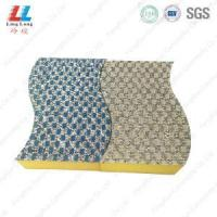 Wholesale waves shape new kitchen cleaning style sponge from china suppliers