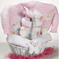 Wholesale Baby Gift Baskets Catch-A-Star Girl Baby Gift Basket from china suppliers