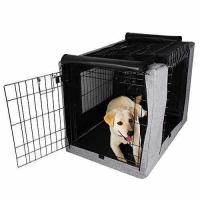 Wholesale Petsfit Crate Cover for 36 Inches Wire Crates,Size 4000,Two Doors Grey from china suppliers
