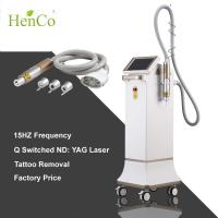 Wholesale Shock Wave 15Hz ND YAG laser 3 tips q-switch Tattoo Removal Diode Laser Beauty Machine from china suppliers