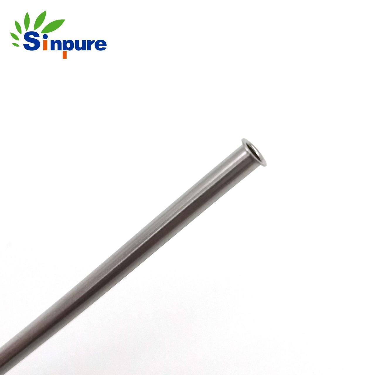 Wholesale Sinpure Stainless steel 316 needle cannula with flared end tip from china suppliers