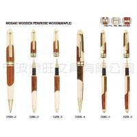 Wholesale Mosaic Wooden Pen(Rose Wood & Maple) from china suppliers