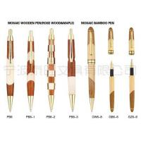 Wholesale Mosaic Wooden Pen(Rose Wood & Maple) Mosaic Bamboo Pen from china suppliers
