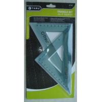 Wholesale stationary Name:triangle set 2 pcs from china suppliers