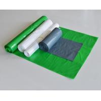 Flat bags with gusset
