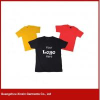 Summer customize multi color O-neck wholesale promotion cotton t shirt(R77)