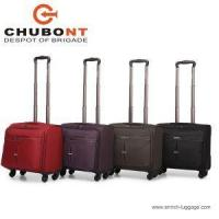 Wholesale Designer Flight Laptop Trolley Fabric Pilot Cases Bags with Wheels Fashion 16 Inch from china suppliers