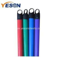 120x2.2cm pvc coated wooden broom stick