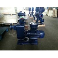 Direct connected clean water self-priming pump